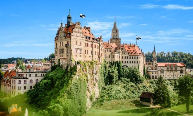 Schloss Sigmaringen:  das Schloss des Fürsten von Hohenzollern