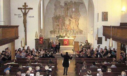 Der Posaunenchor der Evangelisch-Lutherischen Christuskirche Neuburg an der Donau