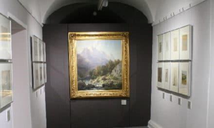 Die Carl-Millner-Galerie im Jesuitenkolleg