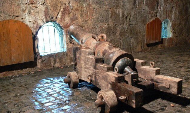 Die Kasematten in der Festung Marburg
