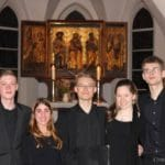 Adventkonzert in Wismar in der Nikolaikirche: Den die Hirten lobeten