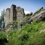 Die Burg Schalun in Liechtenstein
