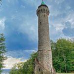 Der Humburgturm von Kaiserslautern in der Pfalz