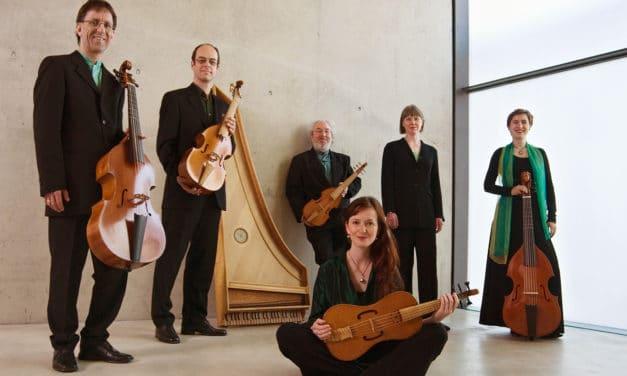 Das Ensemble Marais Consort  gibt in der Drostei in Pinneberg ein Konzert