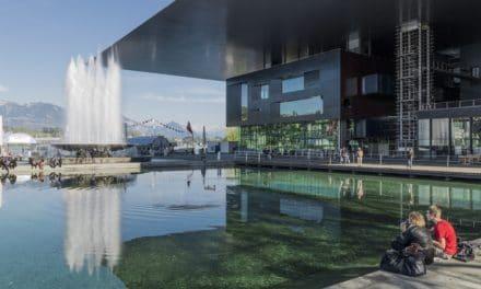 Das Kultur- und Kongresszentrum Luzern KKL am Vierwaldstätter See  ein architektonisches Meisterwerk