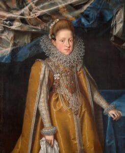 Maria Magdalena von Österreich, Großherzogin von Toskana (1587–1631), Frans Pourbus d. J., 1603/04, Öl auf Leinwand, Kunsthistorisches Museum Wien © KHM-Museumsverband