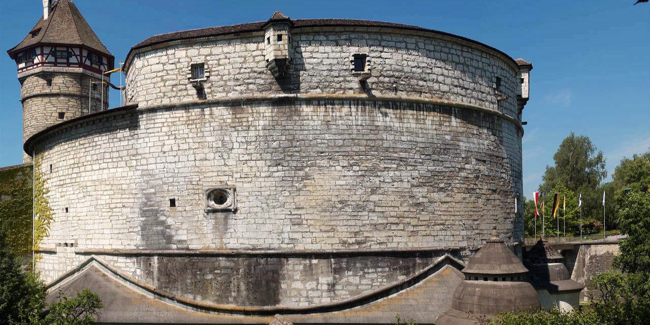 Der Munot. Die Festung im Herzen Schaffhausens