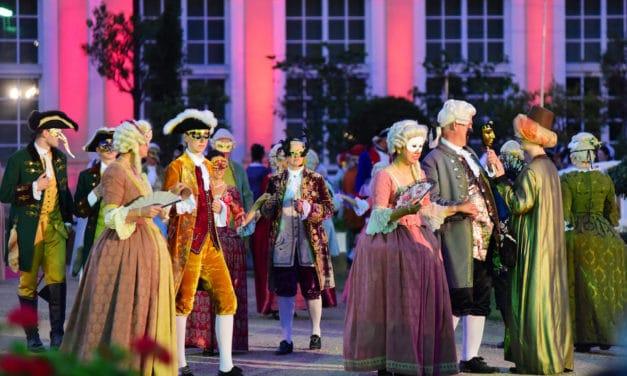 Die Ansbacher Rokoko-Festspiele 2021: Prächtige Roben und rauschende Feste