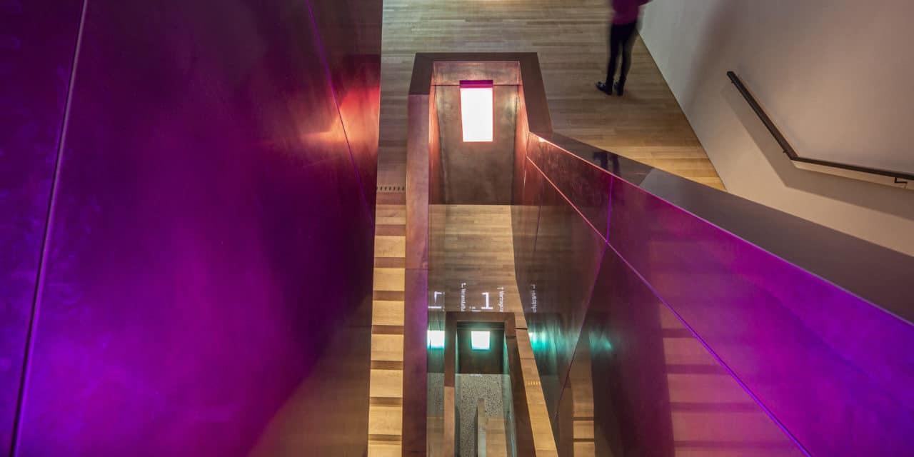 Das vorarlberg museum in Bregenz