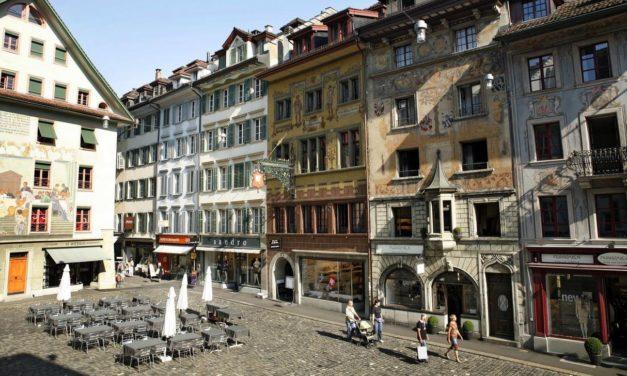 Malerische Altstadt in Luzern