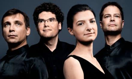 Das delian::quartett spielt ein Haydn-Konzert auf der Burg Namedy