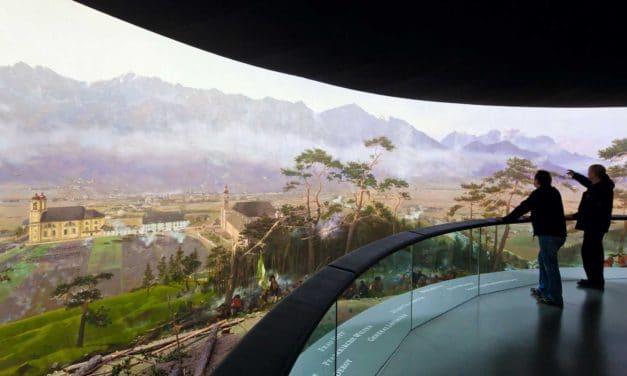 Das TIROL PANORAMA mit Kaiserjägermuseum
