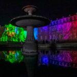Schlosslichtspiele Karlsruhe 2021 auf dem Karlsruher Schloss