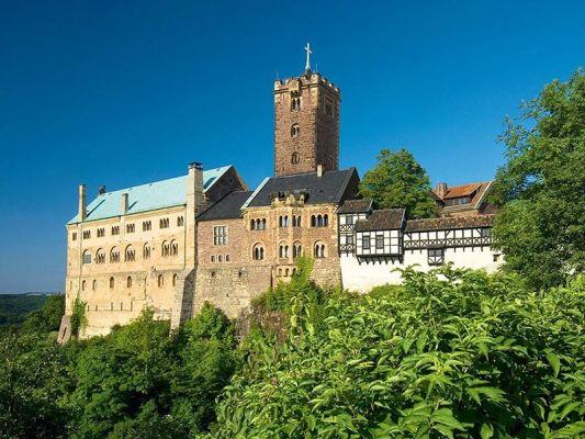 Wartburg - Ansicht von Osten - Foto: A. Nestler