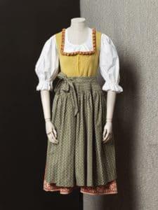 Dirndlkleid mit Spenzer, Mitte 20. Jh., Sammlung des OÖ. Landesmuseums, Foto: OÖ Landes-Kultur GmbH, Michael Maritsch
