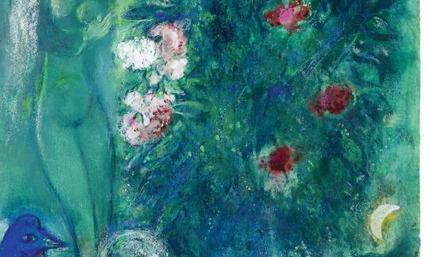 """Das Kunstmuseum Lindau zeigt """"Marc Chagall – Paradiesische Gärten"""""""