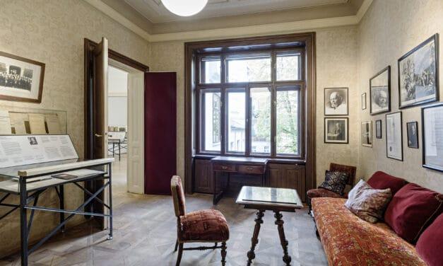 Neu renoviert und erweitert: das Sigmund Freud Museum