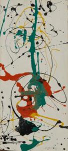 Jackson Pollock, Number 23, 1949, Courtesy Jason McCoy Inc. © Pollock-Krasner Foundation / 2021, ProLitteris, Zürich