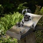 Faszinierende Wesen aus Metall im Kurpark Bad Hall