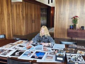 Portrait Claudia Schiffer, Foto Lucie McCullin © 2021 Cloudy Film Limited
