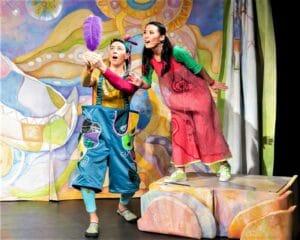 SOPHIE und das Drei-Federn-Rätsel © Theater HEUSCHRECK
