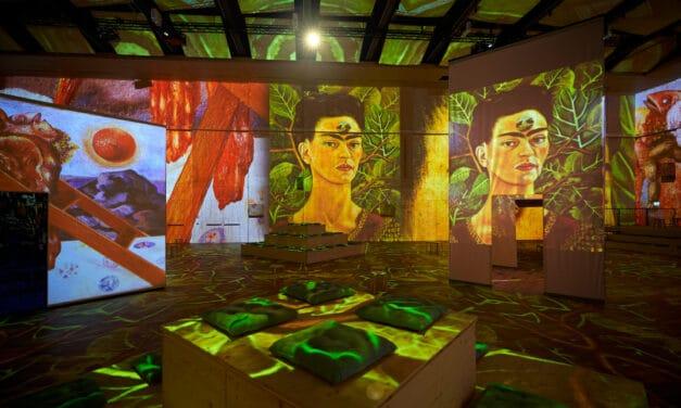 """Weltpremiere in Zürich in der Lichthalle MAAG: """"Viva Frida Kahlo – Immersive Experience"""""""
