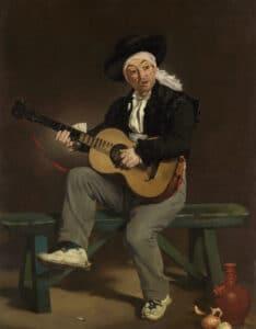 Édouard Manet, Der spanische Sänger (Le Guitarrero), 1860, Öl auf Leinwand, 147,3 x 114,3 cm, Metropolitan Museum of Art, New York